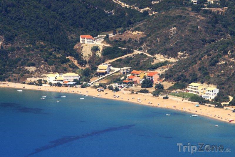 Fotka, Foto Pláž Agios Georgios na Korfu (Korfu, Řecko)