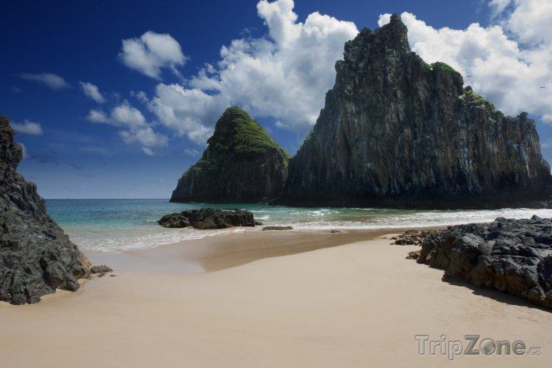 Fotka, Foto Pláž na souostroví Fernando de Noronha (Brazílie)