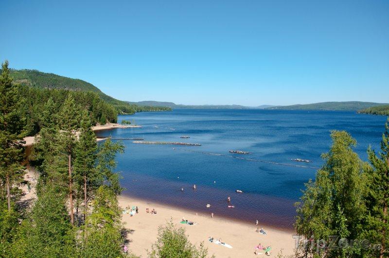 Fotka, Foto Pláž Orbaden ve Švédsku (Švédsko)