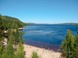 Pláž Orbaden ve Švédsku