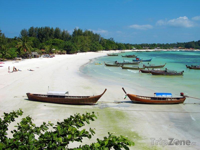 Fotka, Foto Pláž v thajském letovisku Pattaya (Thajsko)