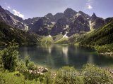 Pleso Morskie Oko ve Vysokých Tatrách
