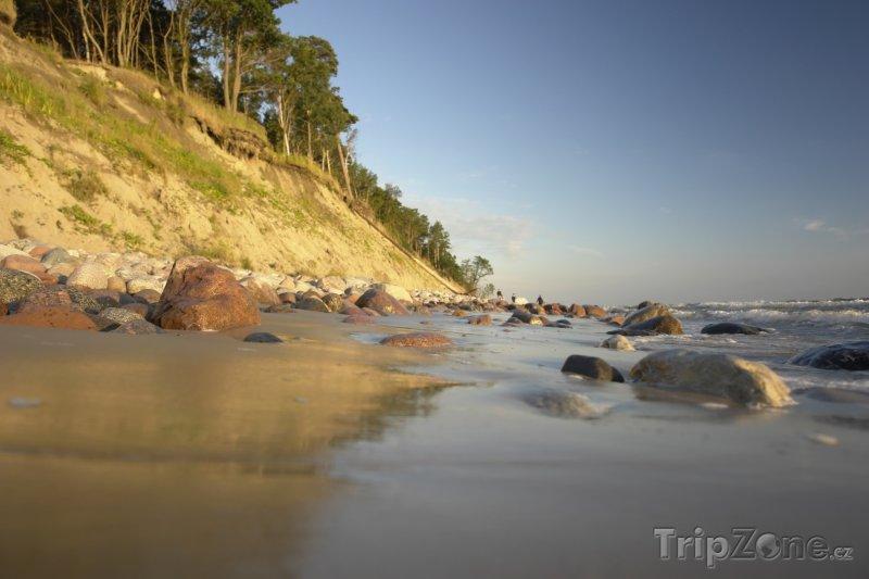 Fotka, Foto Pobřeží Baltského moře v Klajpedském kraji (Litva)