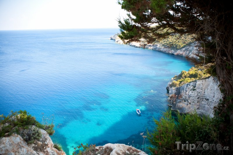 Fotka, Foto Pobřeží ostrova Zakynthos (Zakynthos, Řecko)