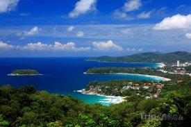 Pobřeží thajského Phuketu
