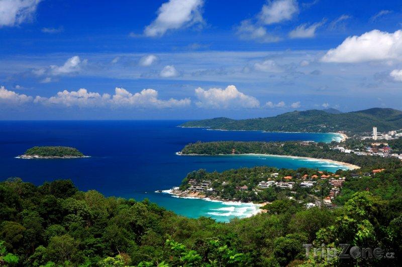 Fotka, Foto Pobřeží thajského Phuketu (Thajsko)