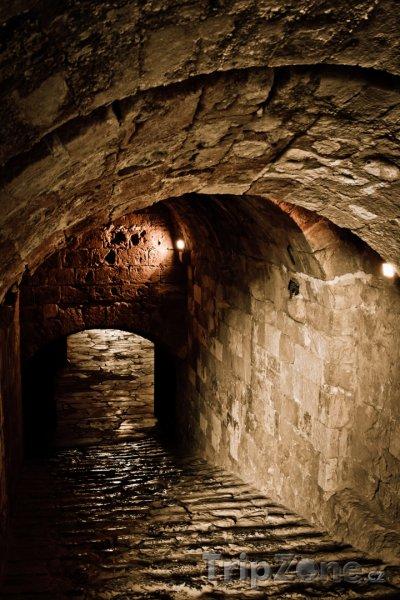 Fotka, Foto Podzemní chodby benátské pevnosti v Heraklionu (Heraklion, Řecko)
