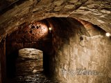 Podzemní chodby benátské pevnosti v Heraklionu