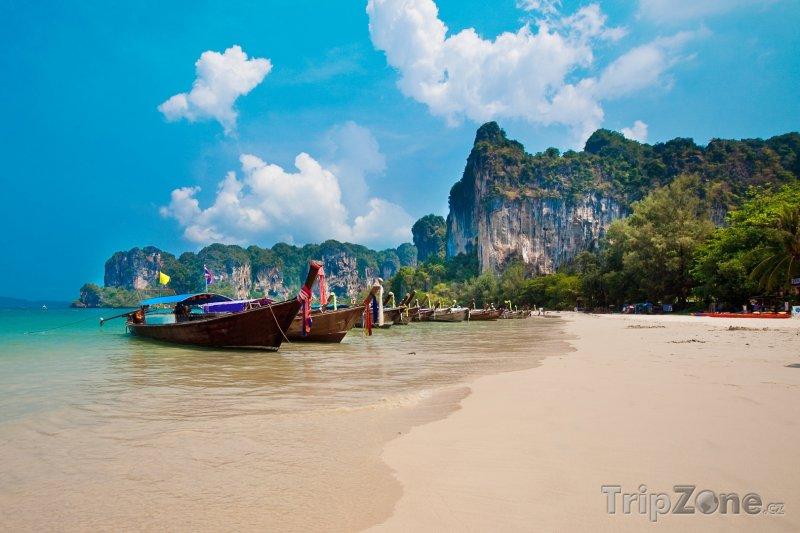Fotka, Foto Pohádková pláž na Krabi (Thajsko)