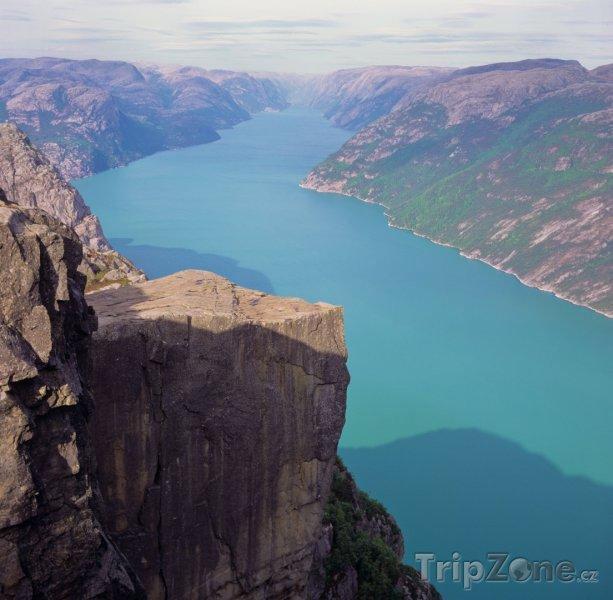 Fotka, Foto Pohled na fjord (Norsko)