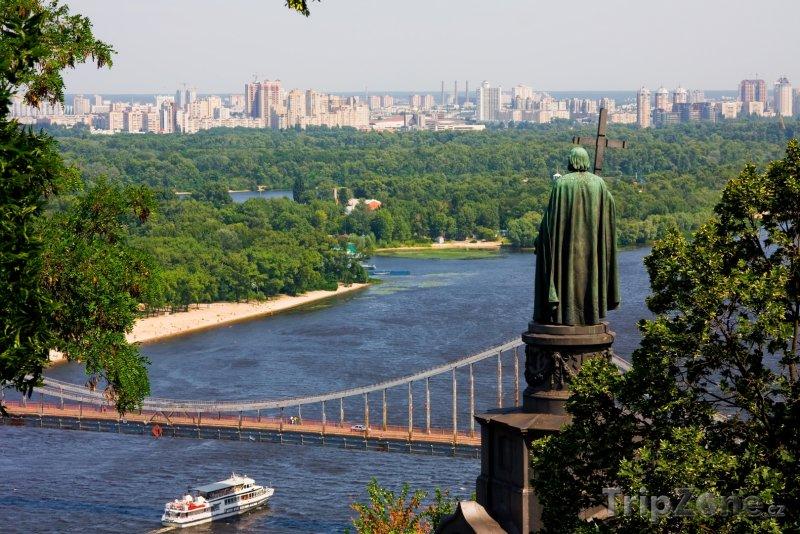Fotka, Foto Pohled na Kyjev (Ukrajina)