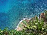 Pohled z útesu Cabo Girao - Madeira