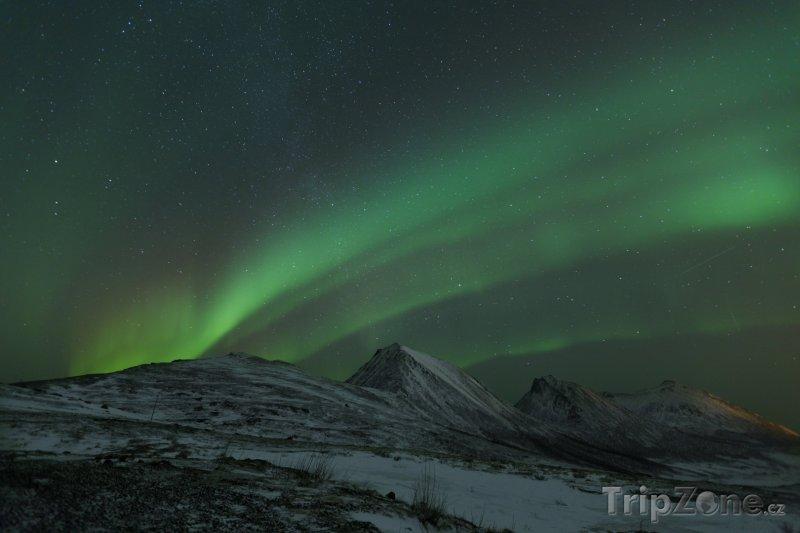 Fotka, Foto Polární záře (Norsko)