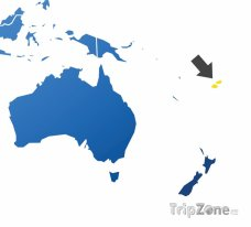 Poloha Fidži na mapě