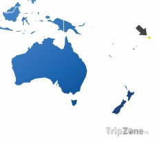 Poloha Samoe na mapě