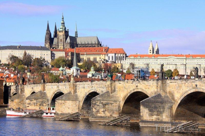 Fotka, Foto Praha, Pražský hrad a Karlův most (Česká republika)