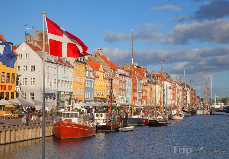 Fotka, Foto Přístav Nyhavn v Kodani (Dánsko)