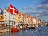 Přístav Nyhavn v Kodani