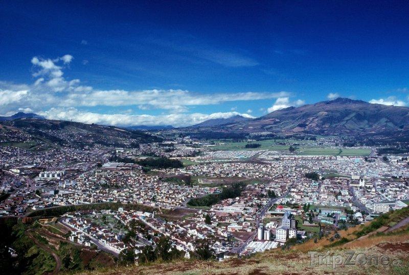 Fotka, Foto Quito, panoráma města (Ekvádor)