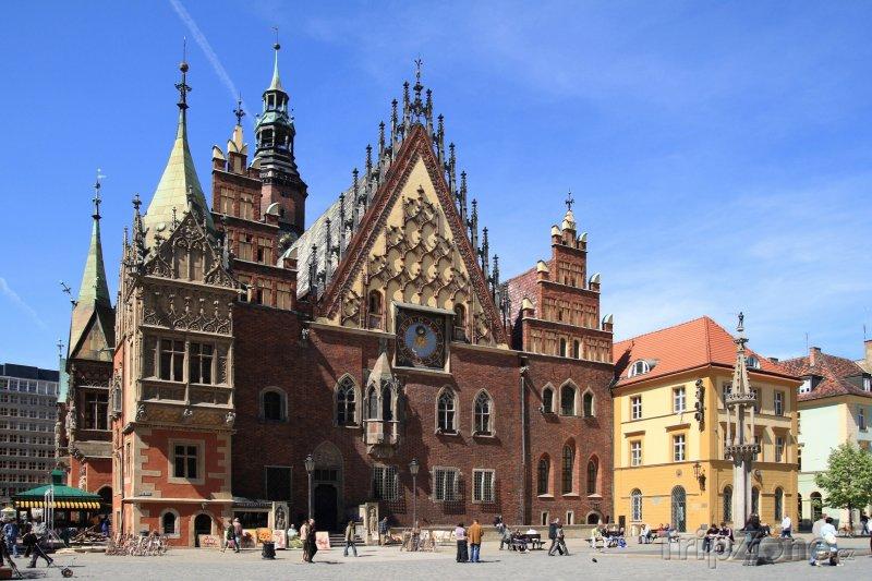 Fotka, Foto Radnice ve Wroclawi (Polsko)