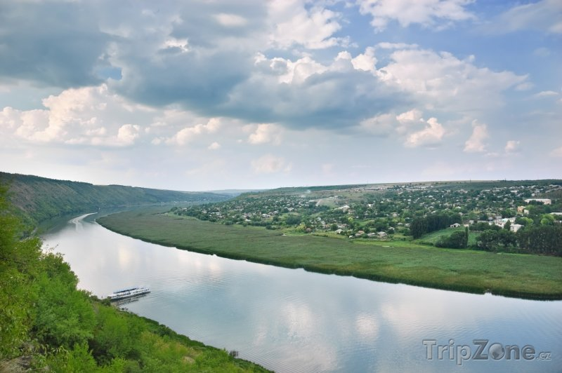 Fotka, Foto Řeka Dněstr (Moldavsko)