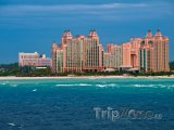 Resort Atlantis Royal Towers, pohled z moře
