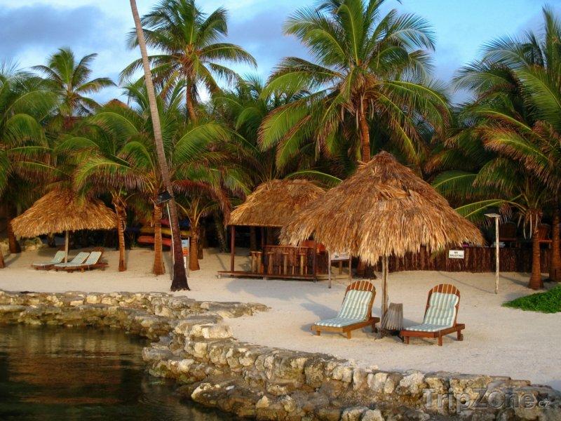 Fotka, Foto Resort na Amergris Caye - největším ostrově Belize (Belize)