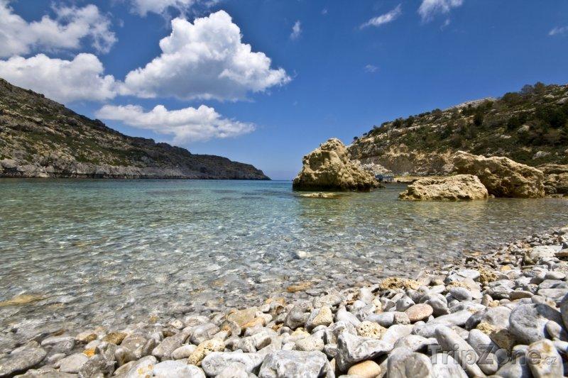 Fotka, Foto Rhodos, pláž Anthony Quinn (Rhodos, Řecko)