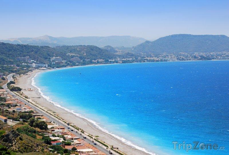 Fotka, Foto Rhodos, pobřeží ostrova (Rhodos, Řecko)
