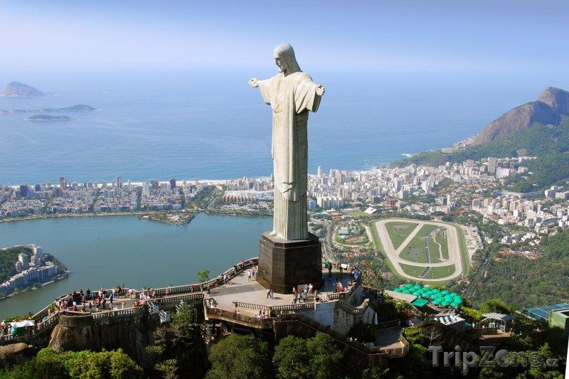 Fotka, Foto Rio de Janeiro, socha Krista Spasitele (Brazílie)