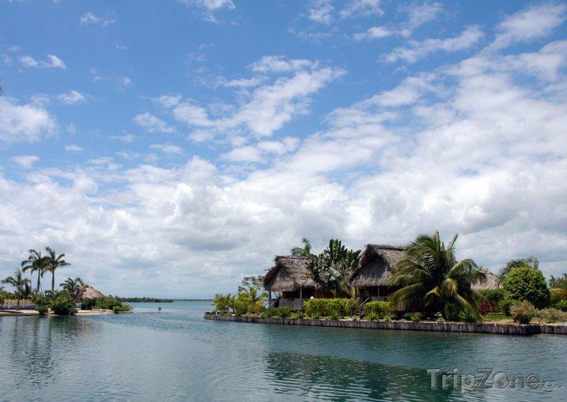 Fotka, Foto Romantické ubytování mezi palmami (Belize)