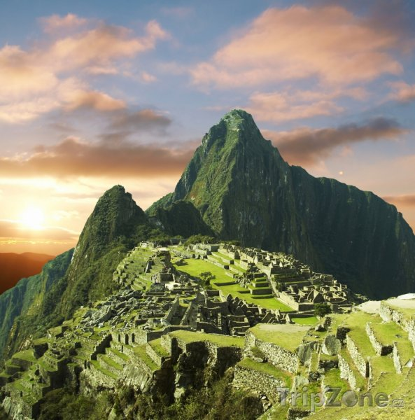 Fotka, Foto Ruiny inckého města Machu Picchu v Andách (Peru)