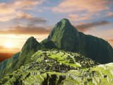 Ruiny inckého města Machu Picchu v Andách
