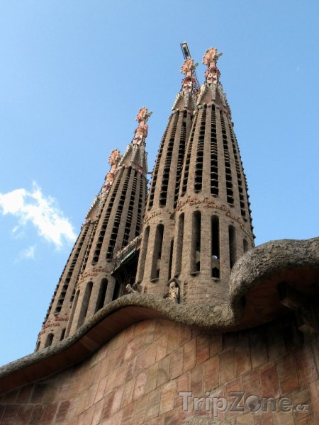 Fotka, Foto Sagrada Familia (Barcelona, Španělsko)