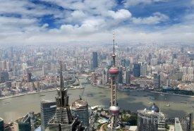 Šanghaj, pohled na město
