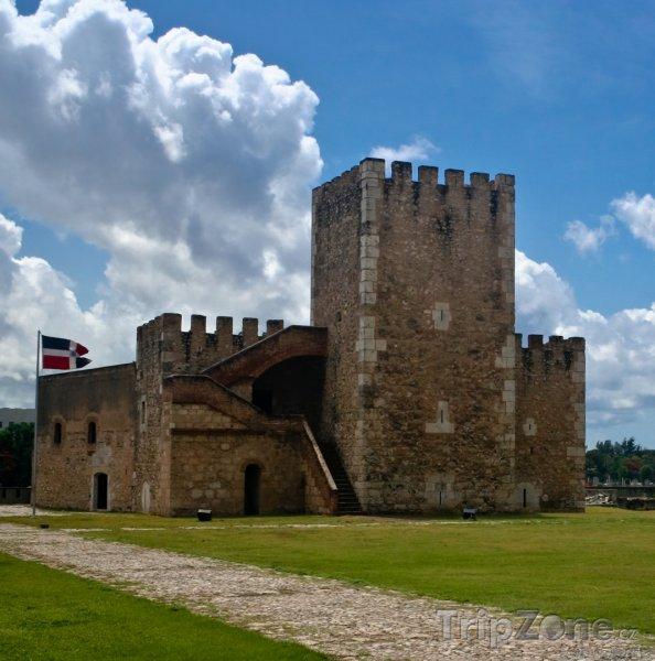 Fotka, Foto Santo Domingo, pevnost Fortaleza Ozama (Dominikánská republika)