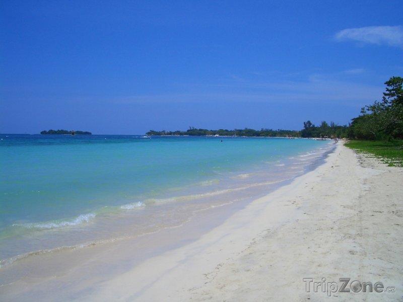 Fotka, Foto Seven mile beach, Negril (Jamajka)
