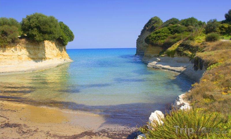 Fotka, Foto Sidari, pláž Canal d'Amour (Korfu, Řecko)
