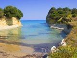 Sidari, pláž Canal d'Amour