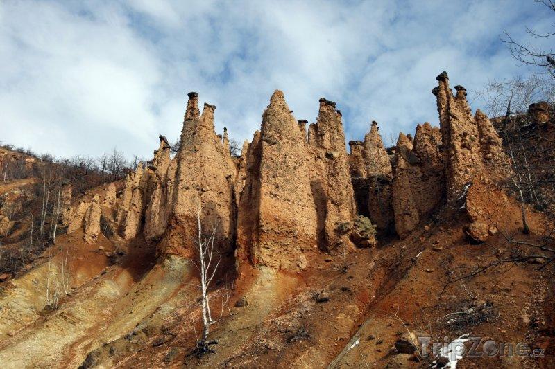 Fotka, Foto Skalní útvar Ďáblovo město (Srbsko)