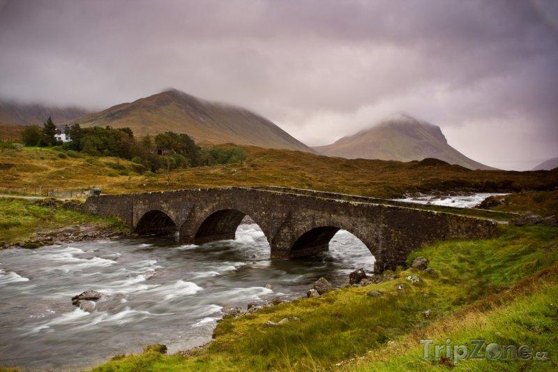 Fotka, Foto Skotská krajina (Velká Británie)