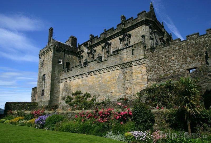 Fotka, Foto Skotsko - hrad Stirling (Velká Británie)