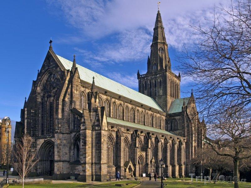 Fotka, Foto Skotsko, katedrála v Glasgow (Velká Británie)