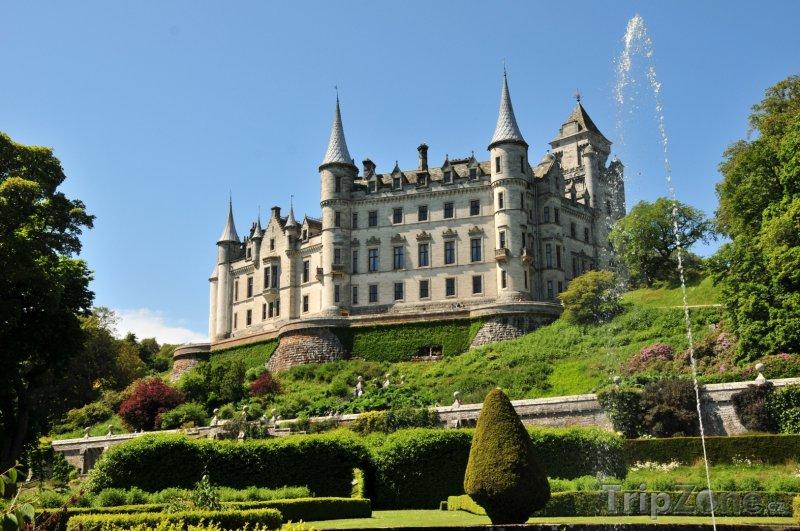 Fotka, Foto Skotsko - zámek Dunrobin (Velká Británie)