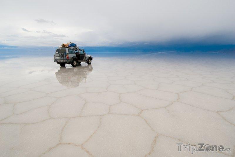 Fotka, Foto Solná pláň Salar de Uyuni (Bolívie)