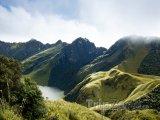 Sopka Mojanda, sopečné jezero