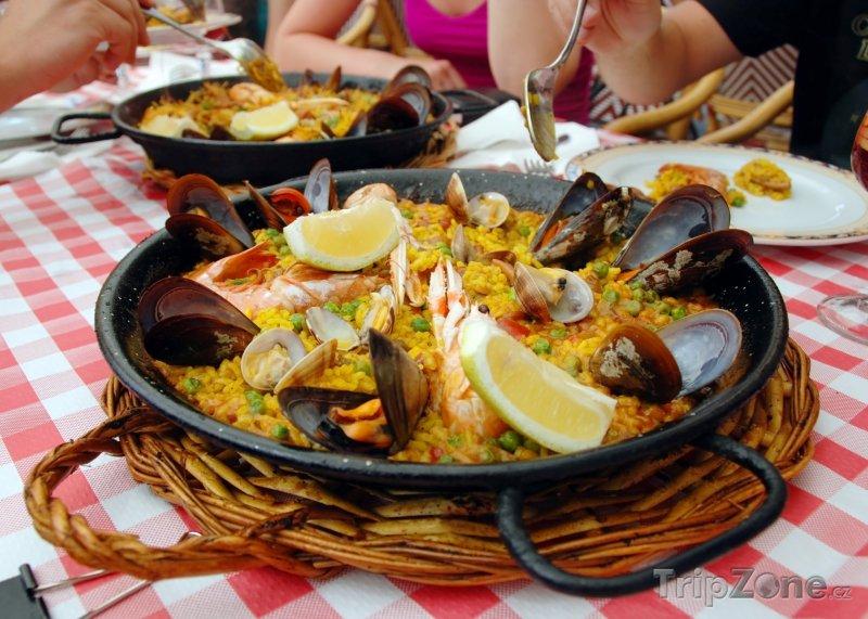 Fotka, Foto Španělská specialita - Paella (Španělsko)
