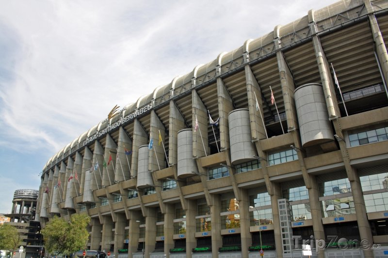 Fotka, Foto Stadión Santiago Bernabéu (Madrid, Španělsko)