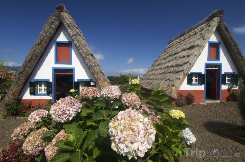 Fotka, Foto Staré domky na Madeiře (Madeira, Portugalsko)
