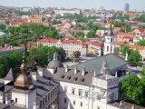 Staré město a katedrála ve Vilniusu